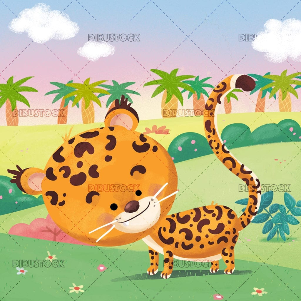 Cheetah in the jungle