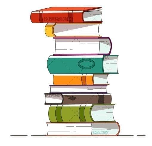 Books Pile of books
