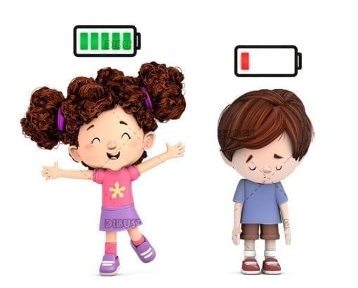 Children with battery power