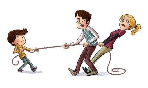 Conflict between parents and children