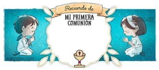 First communion congratulation. Memory