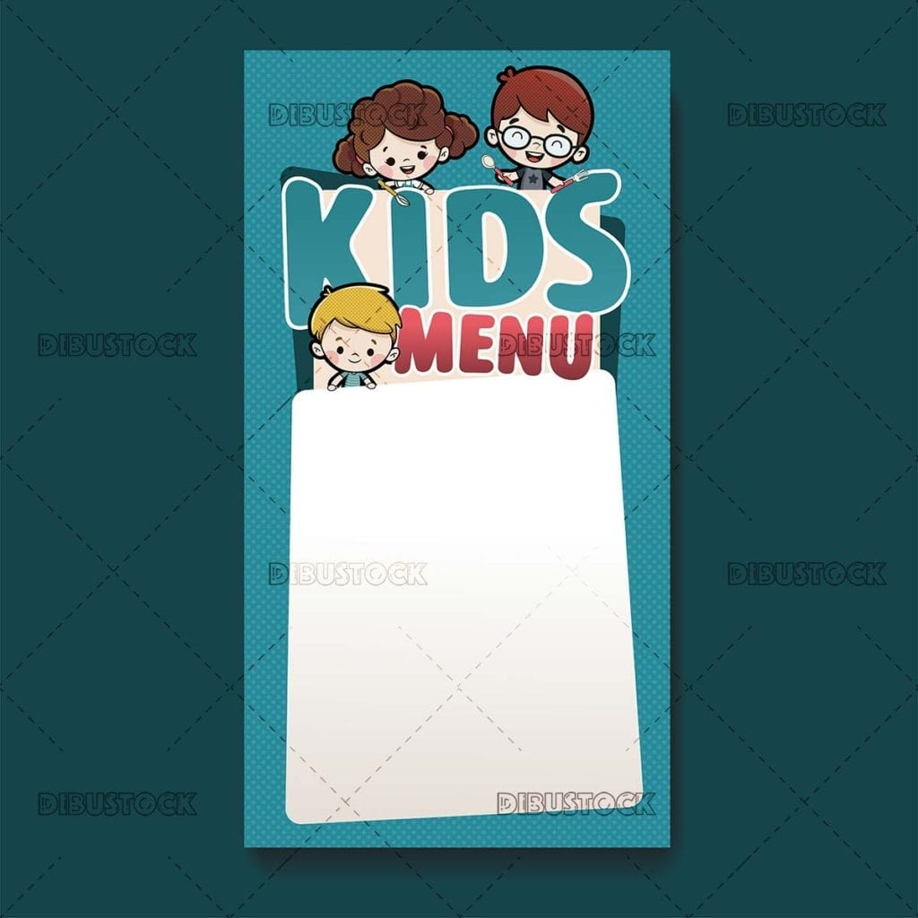 Kids menu template kids menu template