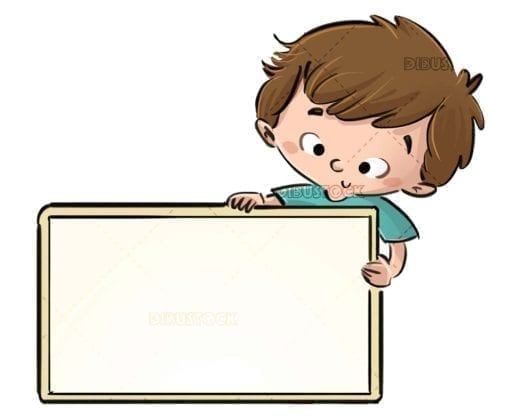 boy catching a yellow rectangular sign