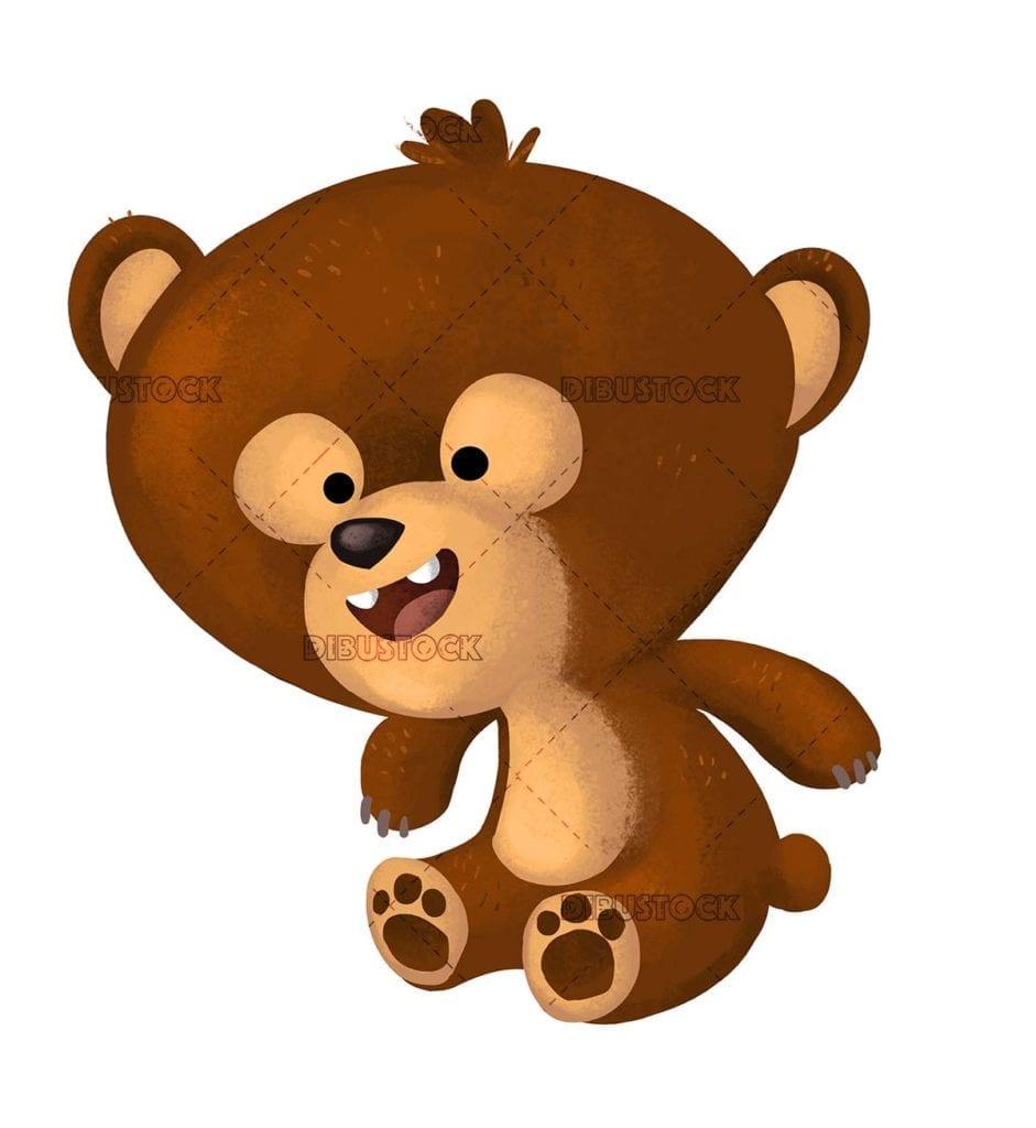 funny little bear