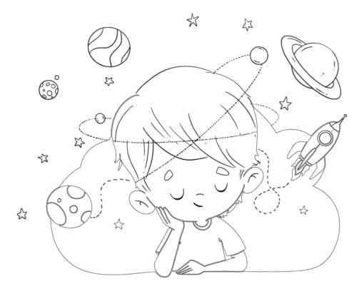 niño soñando planetas low 1