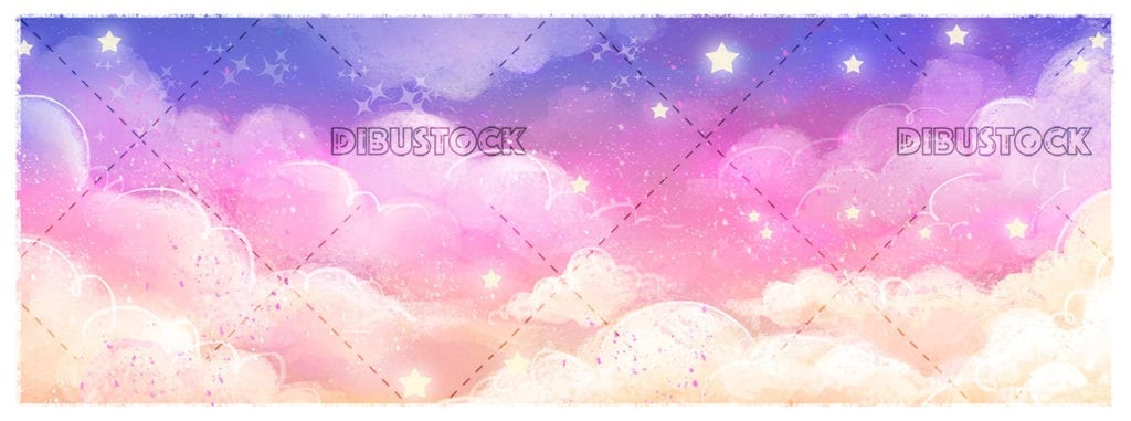 Magic sky background