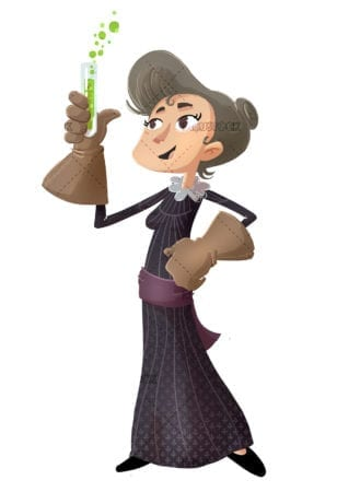 Marie Curie scientific and chemical woman