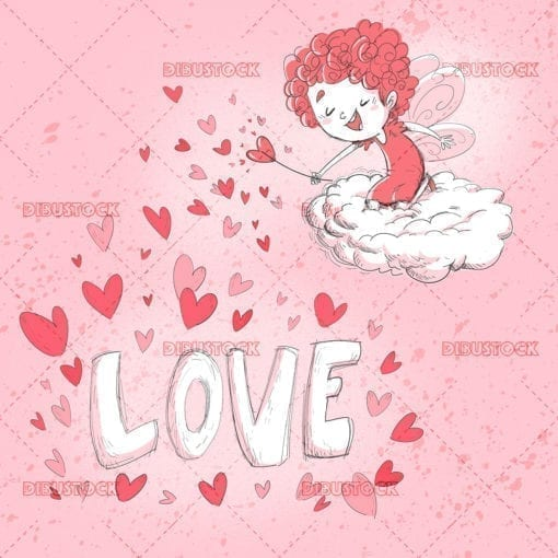 Valentine Fairy Girl