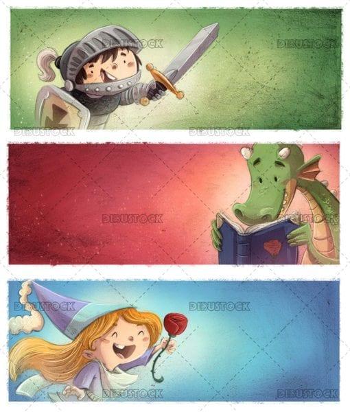 Dragon princess and knight tale