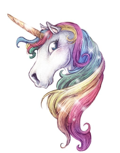 Rainbow20unicorn20head